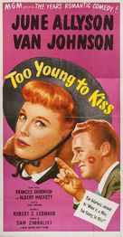 Too Young to Kiss - Movie Poster (xs thumbnail)