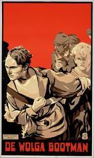 The Volga Boatman - Dutch Movie Poster (xs thumbnail)