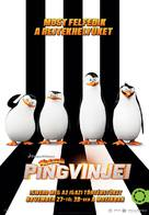 Penguins of Madagascar - Hungarian Movie Poster (xs thumbnail)