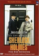"""The Adventures of Sherlock Holmes"" - DVD movie cover (xs thumbnail)"