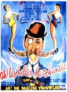 Ah! Les belles bacchantes - Belgian Movie Poster (xs thumbnail)