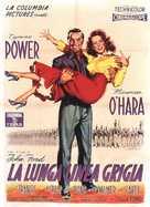 The Long Gray Line - Italian Movie Poster (xs thumbnail)