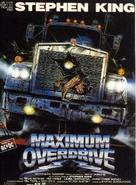 Maximum Overdrive - French Movie Poster (xs thumbnail)