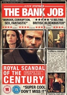 The Bank Job - British DVD movie cover (xs thumbnail)