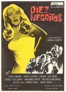 Ten Little Indians - Spanish Movie Poster (xs thumbnail)