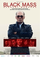 Black Mass - Romanian Movie Poster (xs thumbnail)