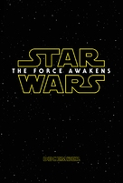 Star Wars: The Force Awakens - Movie Poster (xs thumbnail)