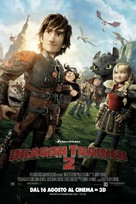 How to Train Your Dragon 2 - Swiss Movie Poster (xs thumbnail)