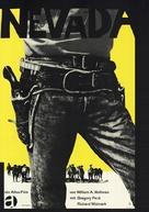 Yellow Sky - German Movie Poster (xs thumbnail)