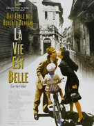 La vita è bella - French Movie Poster (xs thumbnail)