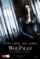 The Wolfman - Australian Movie Poster (xs thumbnail)