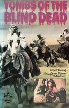 La noche del terror ciego - VHS movie cover (xs thumbnail)
