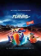 Turbo - Turkish Movie Poster (xs thumbnail)