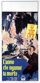 The Man Who Could Cheat Death - Italian Movie Poster (xs thumbnail)