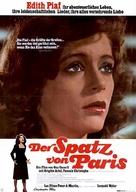 Piaf - German Movie Poster (xs thumbnail)