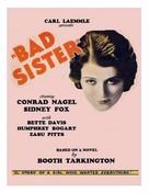 The Bad Sister - Movie Poster (xs thumbnail)