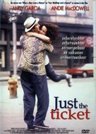 Just the Ticket - Dutch DVD cover (xs thumbnail)