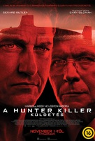 Hunter Killer - Hungarian Movie Poster (xs thumbnail)