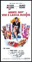 Live And Let Die - Italian Movie Poster (xs thumbnail)