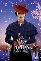 Mary Poppins Returns - Danish Movie Cover (xs thumbnail)
