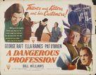 A Dangerous Profession - Movie Poster (xs thumbnail)