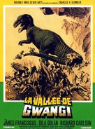 The Valley of Gwangi - French Movie Poster (xs thumbnail)