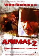 Animal 2 - Brazilian Movie Cover (xs thumbnail)