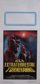 Erinnerungen an die Zukunft - Italian Movie Poster (xs thumbnail)