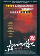 Apocalypse Now - Swedish DVD movie cover (xs thumbnail)
