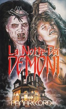 Night of the Demons - Italian Movie Cover (xs thumbnail)