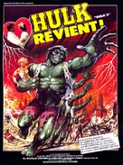 The Incredible Hulk: Married - French Movie Poster (xs thumbnail)