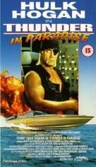 """Thunder in Paradise"" - British VHS movie cover (xs thumbnail)"