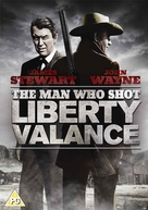 The Man Who Shot Liberty Valance - British DVD movie cover (xs thumbnail)