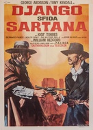 Django sfida Sartana - Italian Movie Poster (xs thumbnail)