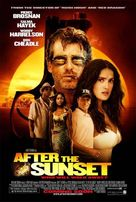 After the Sunset - Theatrical movie poster (xs thumbnail)