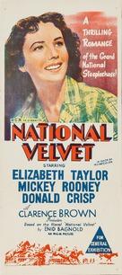 National Velvet - Australian Movie Poster (xs thumbnail)