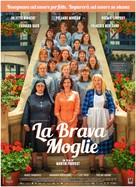 La bonne épouse - Italian Movie Poster (xs thumbnail)