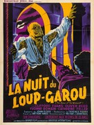 The Curse of the Werewolf - French Movie Poster (xs thumbnail)