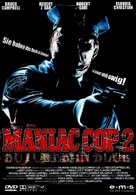 Maniac Cop 2 - German DVD cover (xs thumbnail)