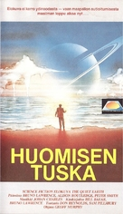 The Quiet Earth - Finnish VHS movie cover (xs thumbnail)