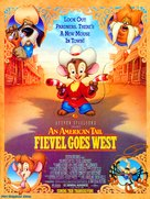 An American Tail: Fievel Goes West - Movie Poster (xs thumbnail)
