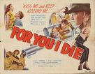 For You I Die - Movie Poster (xs thumbnail)
