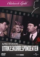 Foreign Correspondent - Swedish DVD movie cover (xs thumbnail)