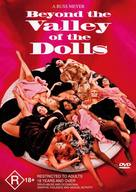 Beyond the Valley of the Dolls - Australian DVD cover (xs thumbnail)