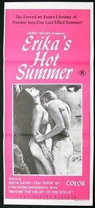 Erika's Hot Summer - Australian Movie Poster (xs thumbnail)