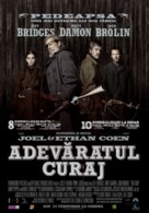 True Grit - Romanian Movie Poster (xs thumbnail)