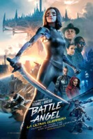 Alita: Battle Angel - Argentinian Movie Poster (xs thumbnail)