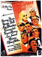 Un carnet de bal - French Movie Poster (xs thumbnail)