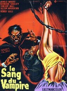 Blood of the Vampire - French Movie Poster (xs thumbnail)