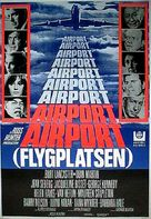 Airport - Swedish Movie Poster (xs thumbnail)